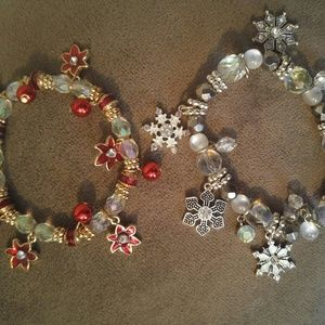 Jewelry - Holiday bracelets